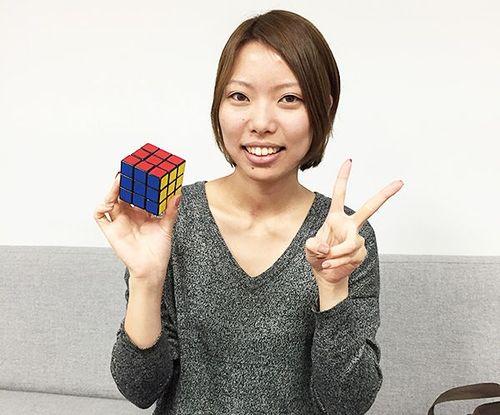 大阪オフィスにはルービックキューブ元日本一がいます!