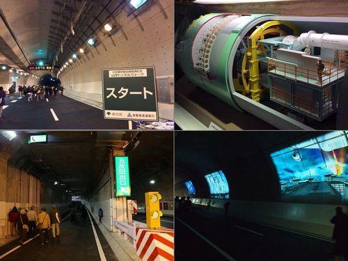 首都高速中央環状線が全線開通「山手トンネルウォーク」に参加しました