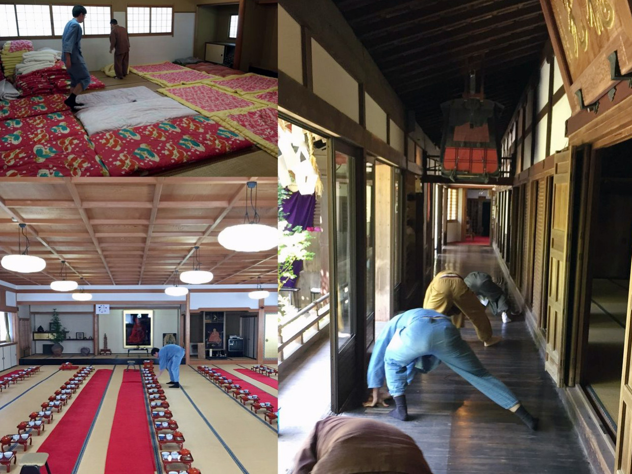 高野山の宿坊ボランティアに行ってきました