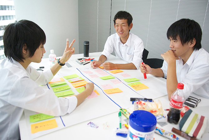 大阪オフィスで高校生向けミニインターンシップを実施