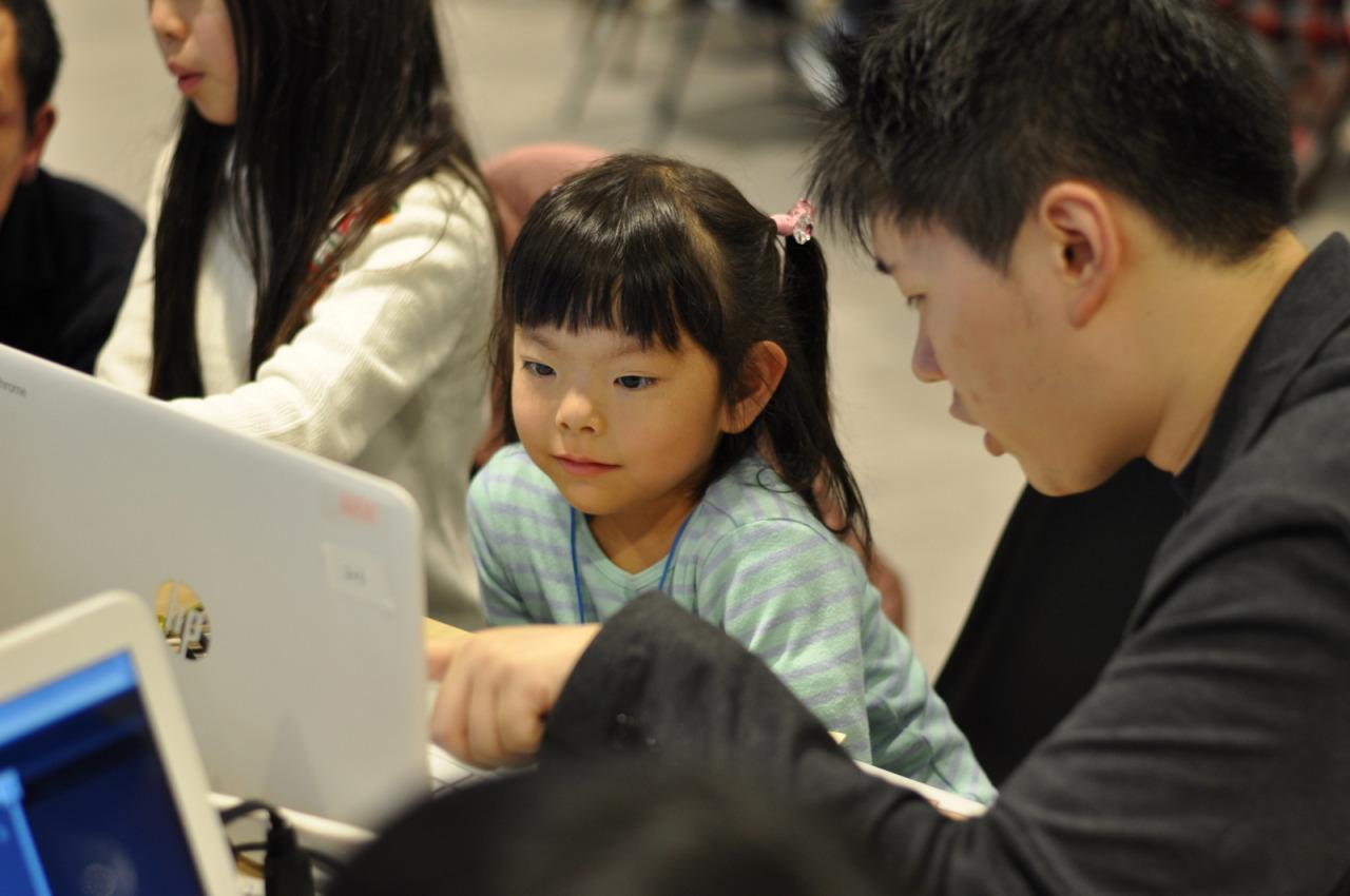 「プログラミング楽しかった!」子ども向けプログラムイベント
