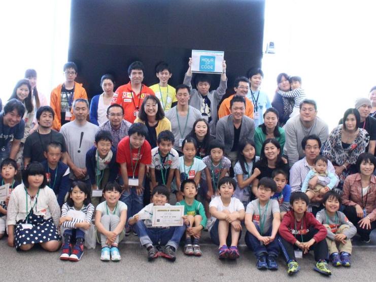 こどもの日に全国で1万人がプログラミング「Hour of code JAPAN」