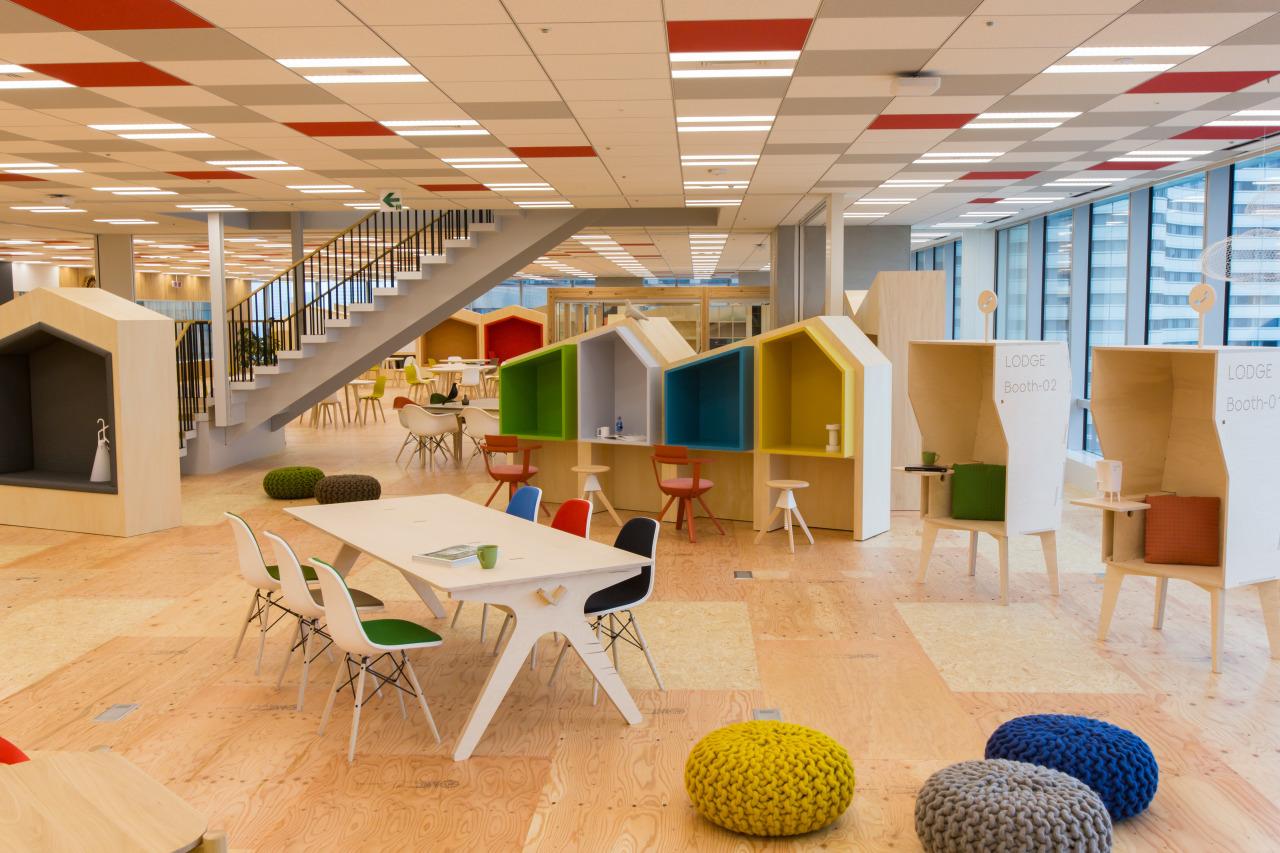 変えたいのは働き方」ヤフーの新本社オフィス - Corporate Blog - ヤフー株式会社
