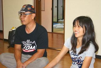台湾からのゲストの写真