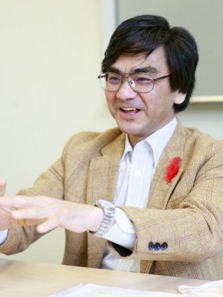 中央共同募金会・福井氏の写真
