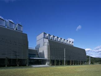 白河データセンターの外観写真