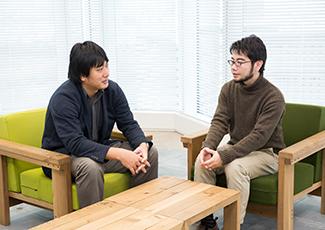 中野信と箱田慶太の写真