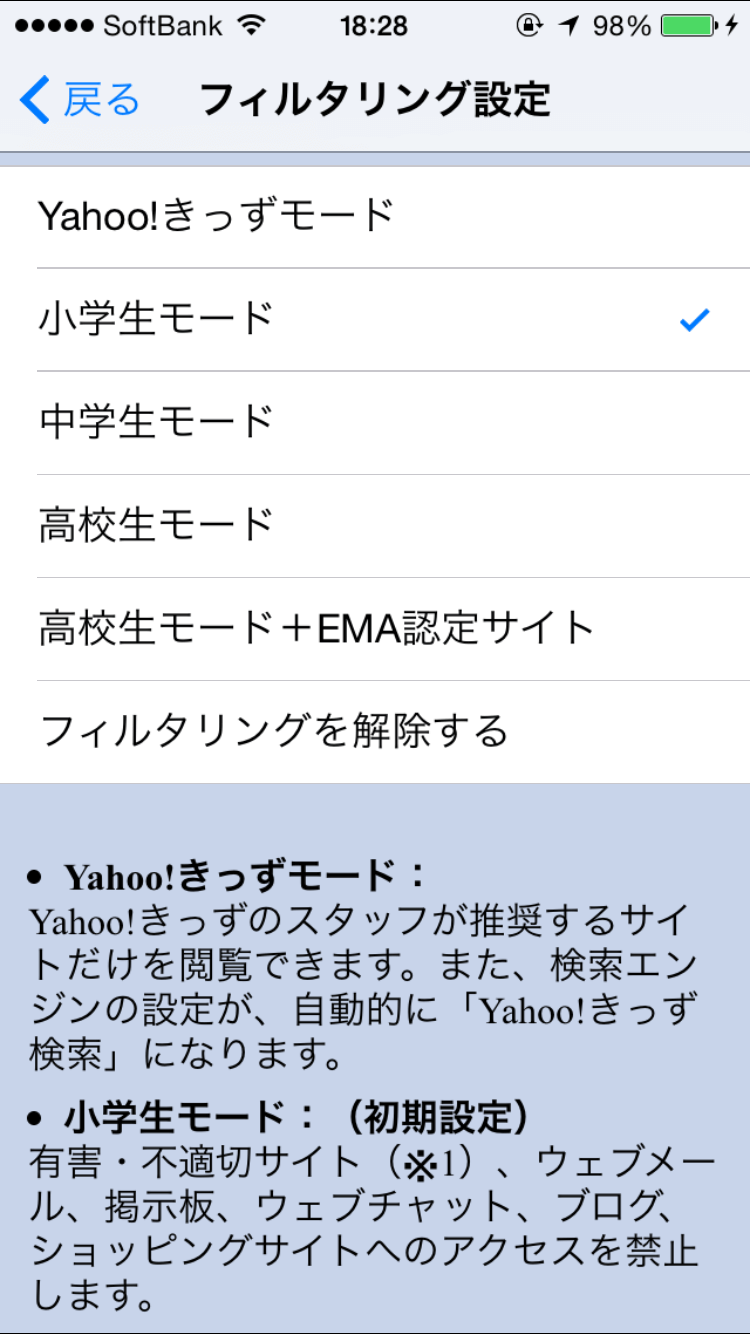Y!あんしんねっと(スマホ)