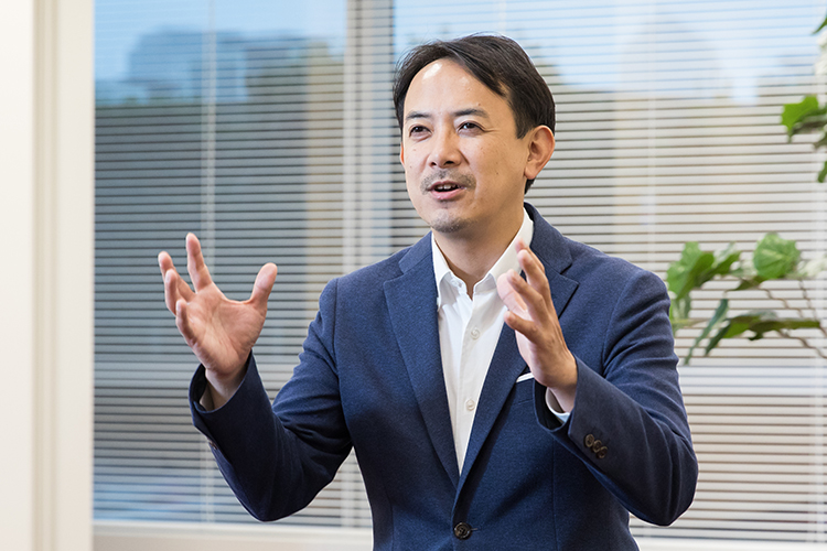 ヤフー株式会社代表取締役社長・川邊 健太郎の写真