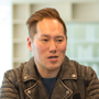 インタビュアー田中の写真