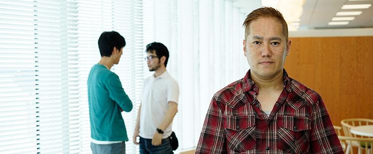 インタビュアー田中宏亮の写真