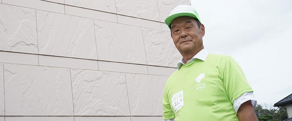 東松島市野蒜まちづくり協議会会長の早川宏さん