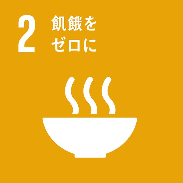 2.飢餓をゼロに ロゴ