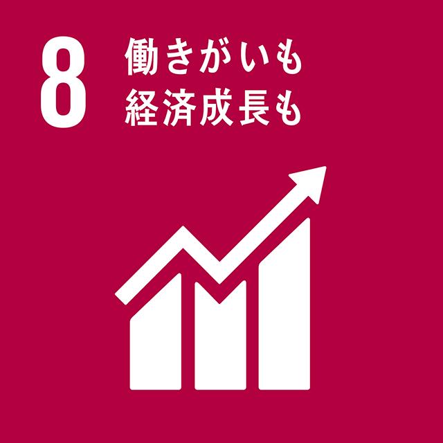 8.働きがいも経済成長も ロゴ
