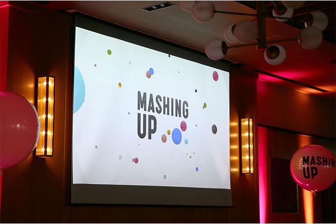 MASHING UPイベント会場の写真