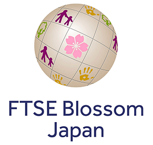 The logo of FTSE Blossom Japan