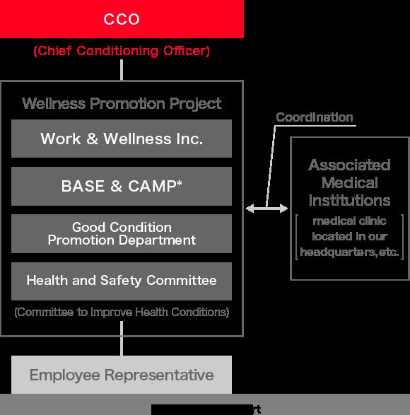 Health Maintenance and Promotion: Organizational Chart