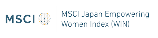 The logo of MSCI Japan Empowering Women Index (WIN)