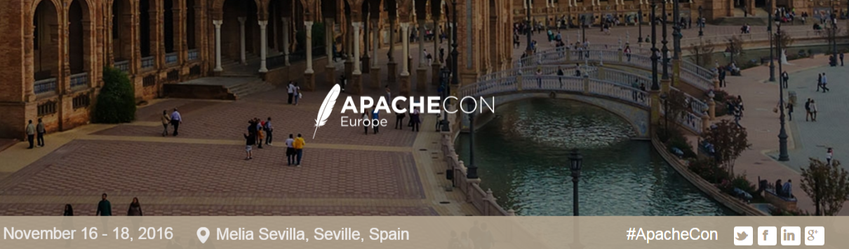 ApacheCon Europe 2016