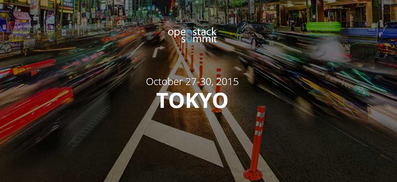 OpenStack Summit Tokyo 2015