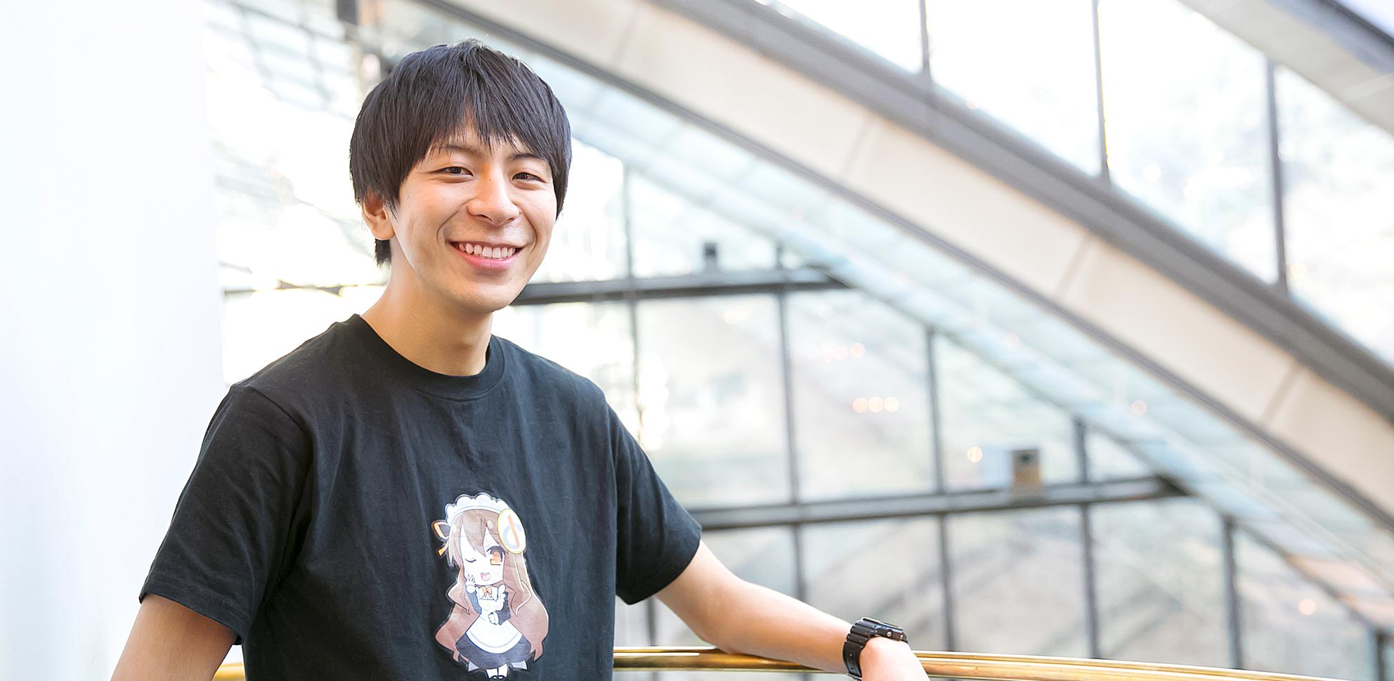 Masaru Kurahayashi Main Visual