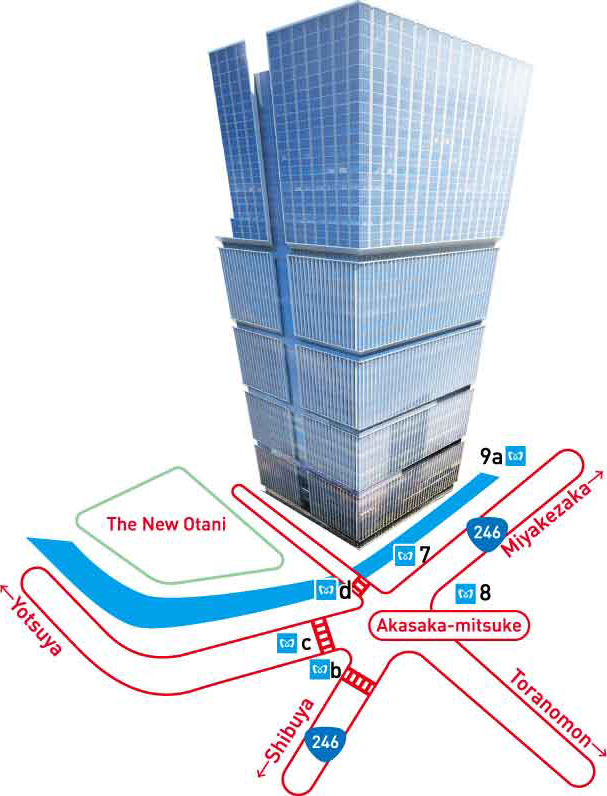 Relocation Of The Head Office ヤフー株式会社 - Japan map yahoo