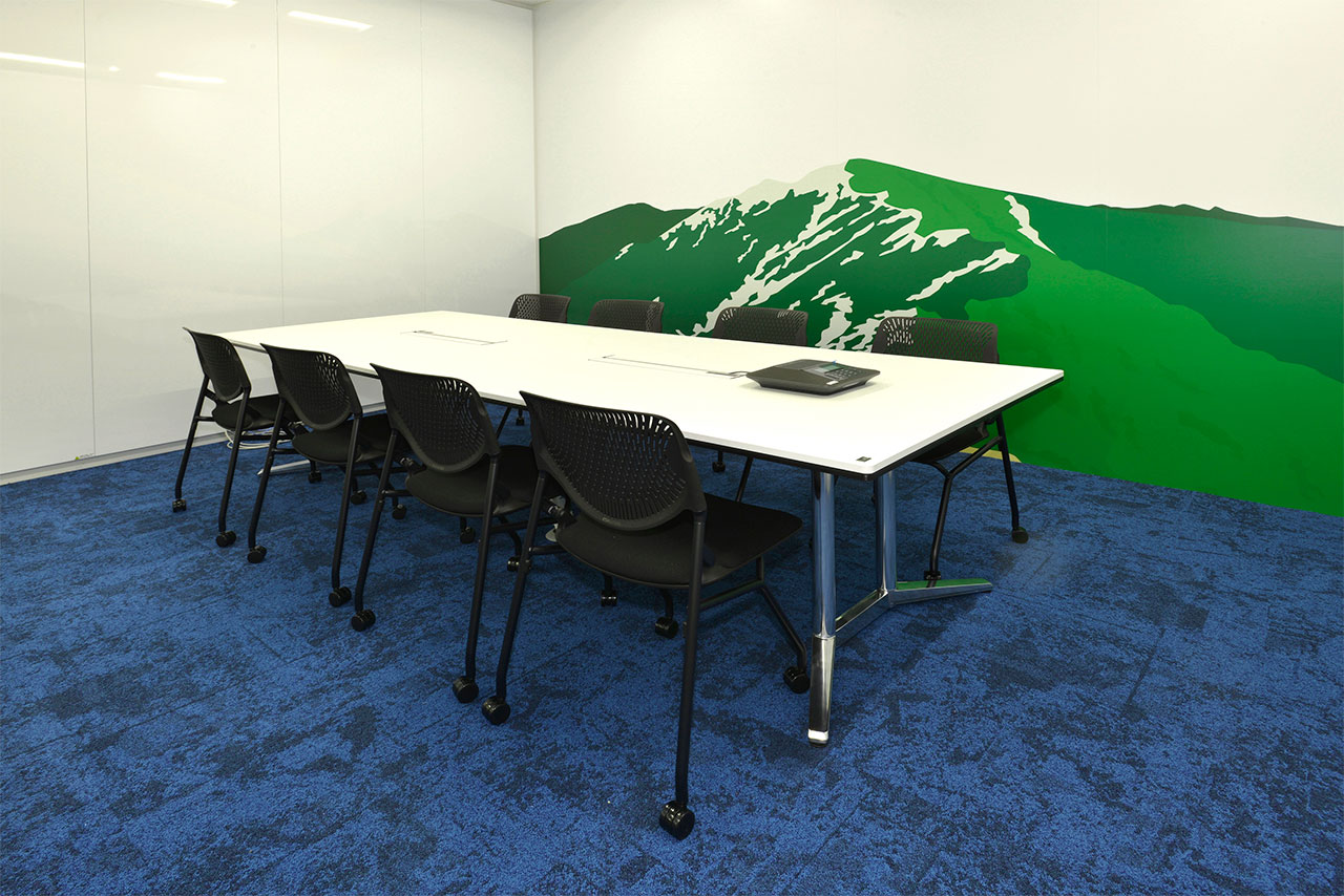 会議室の写真