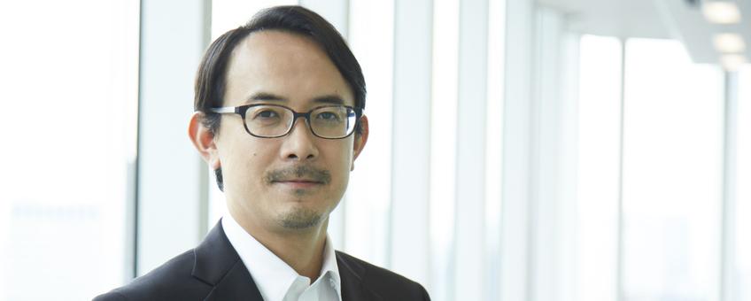 最高経営責任者 川邊健太郎の写真