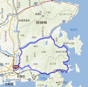 ショートコース地図