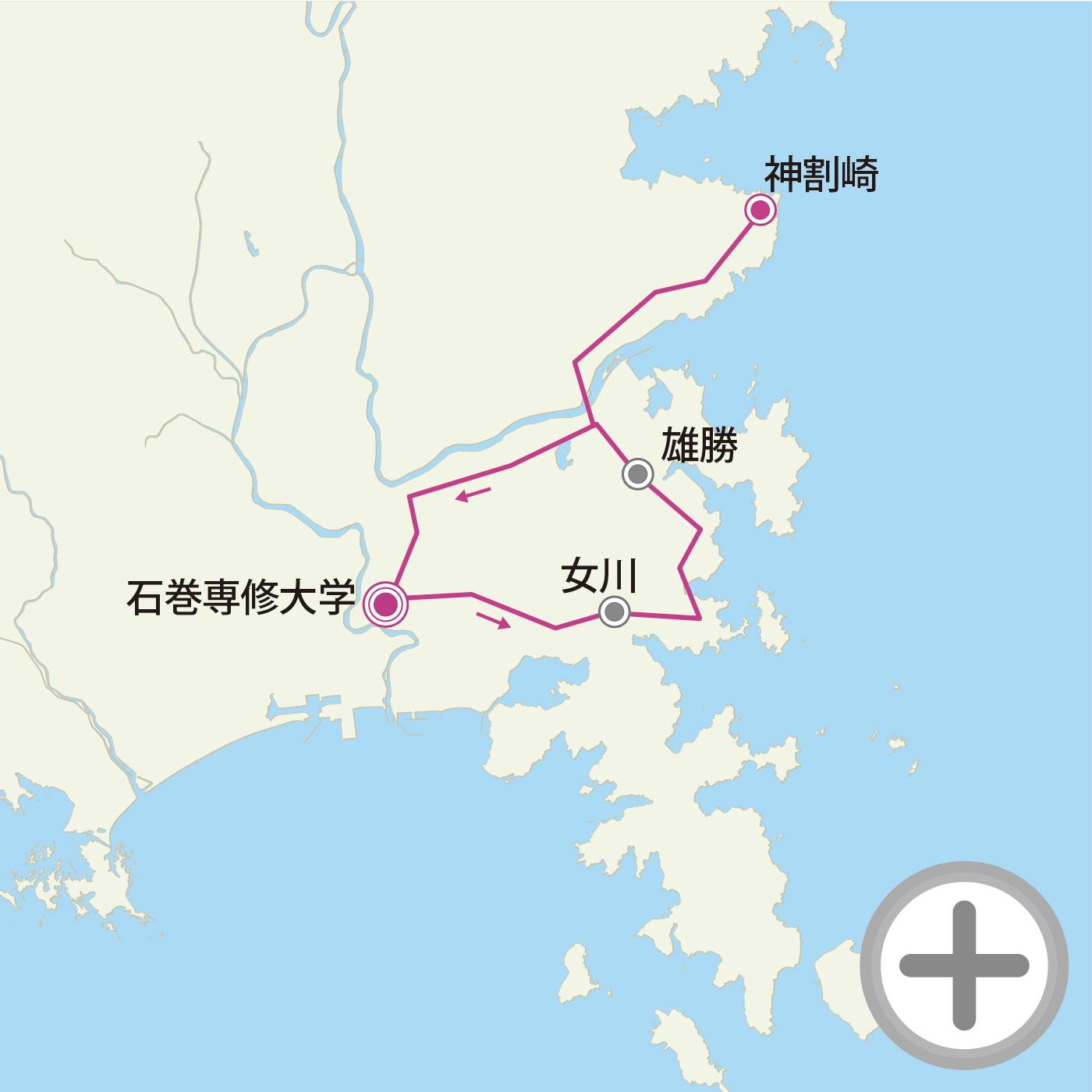 北上フォンドコースマップの画像