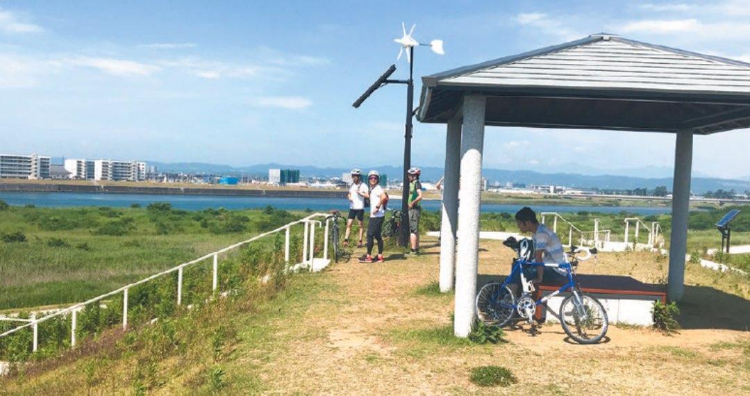 写真:藤塚展望台の風景
