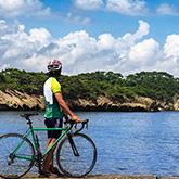 奥松島サイクリングと新宮戸八景散策 距離:約25km 獲得標高:約150m