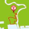石巻周遊コースのマップ