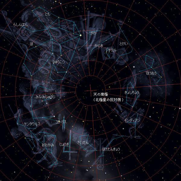 南の地方の星座 - 星座 - 星空 - Yahoo!きっず図鑑