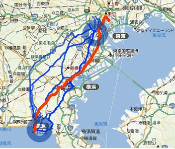 地図から検索(β)