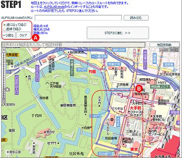 画像:レースを開催するSTEP1