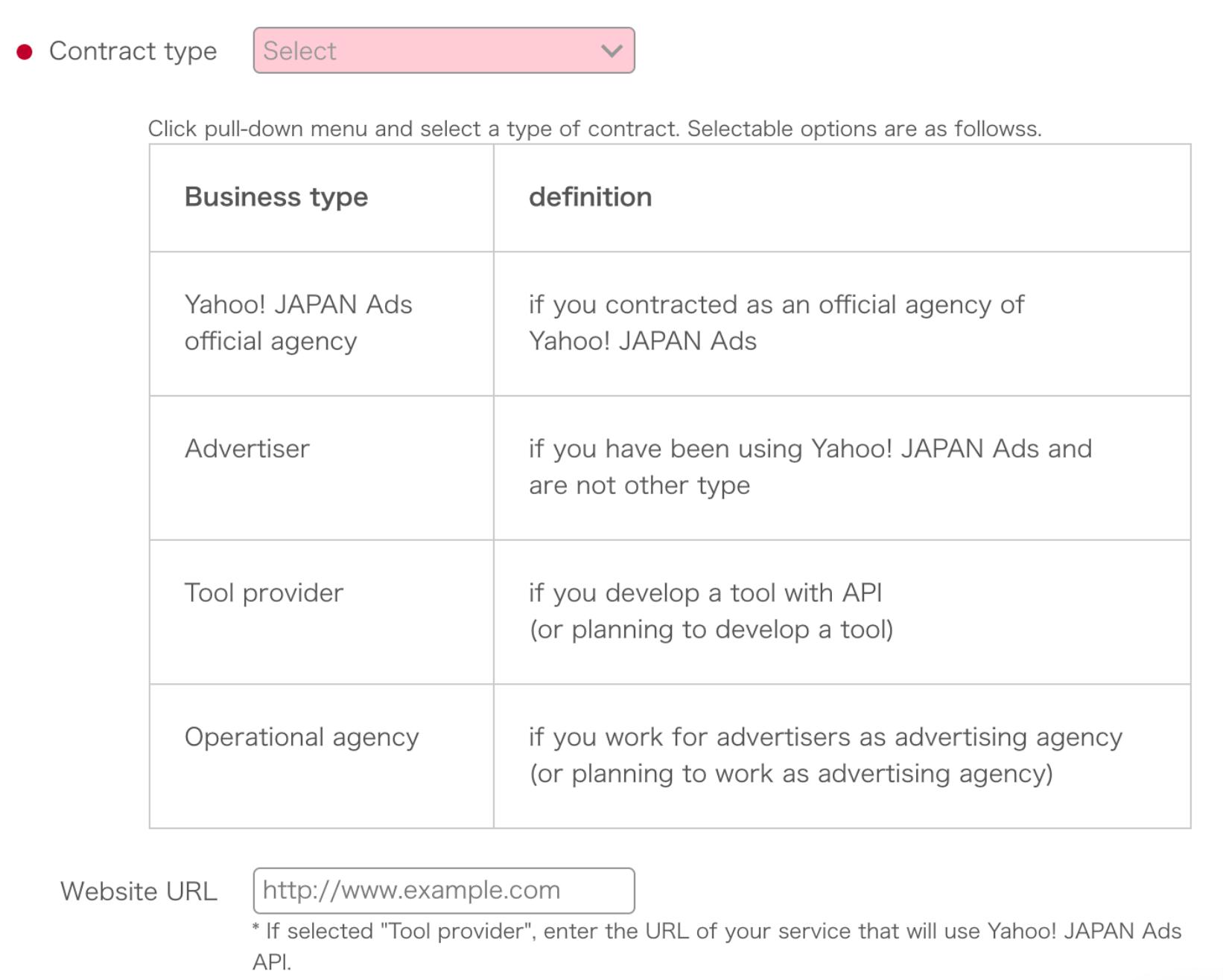 Yahoo! JAPAN Ads API application