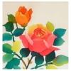 植物模様−バラ