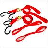 ツーリングネット、ロープ
