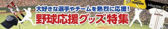 大好きな選手やチームを熱烈に応援! 野球応援グッズ特集