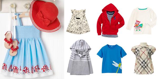 ブランド別にかしこく選ぶ、子ども服