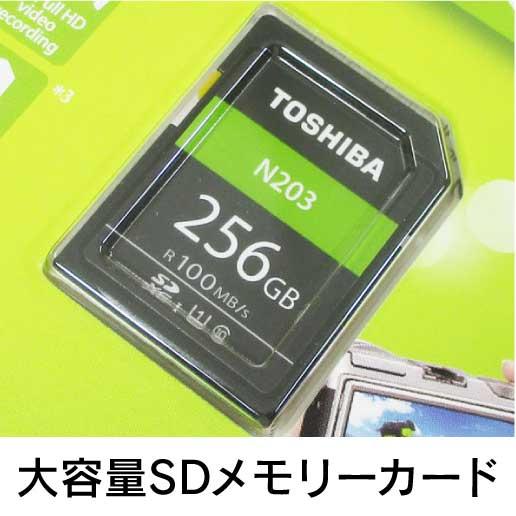 大容量SDメモリーカード
