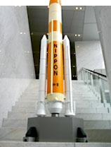で、でかすぎる! ただの大きなロケット模型ではない!