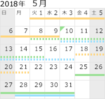 2018年5月
