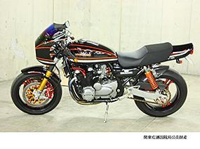 オートバイ カワサキ ゼファー750