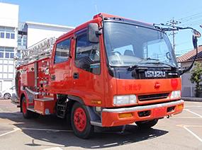 いすゞ  化学消防ポンプ自動車(II型)