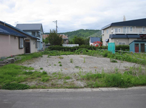 北海道芦別市の宅地