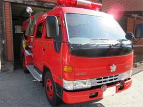 トヨタ 消防ポンプ自動車 4WD