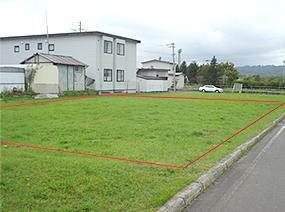 北海道釧路市阿寒町の旧職員住宅跡