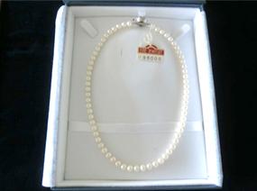 本真珠6ミリ珠パールネックレス